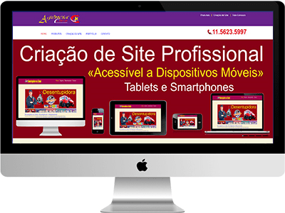 Criação de Site em Campos Novos